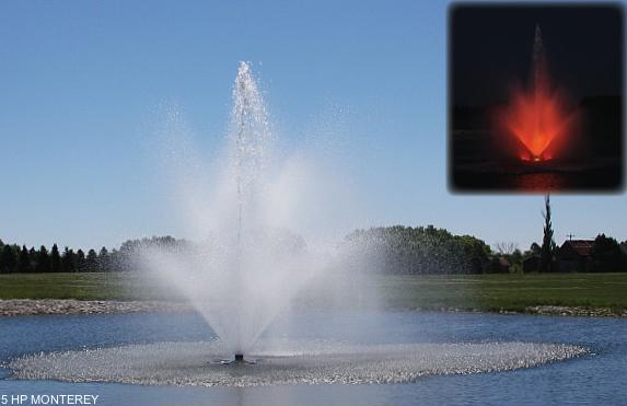 Monterey drijvende fontein
