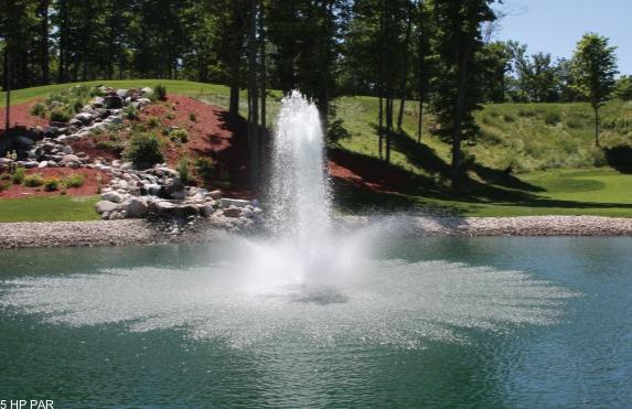 Par drijvende fontein Aqua Master