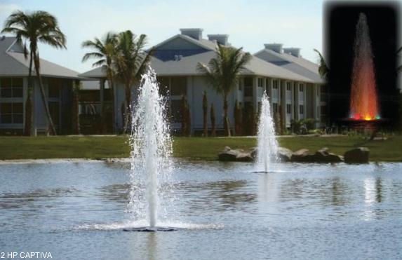 Captiva drijvende fontein