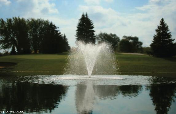 drijvende fontein Cypress