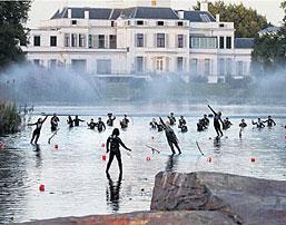 verhuur fontein voor evenement